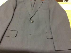 ジャケットのカビアフター