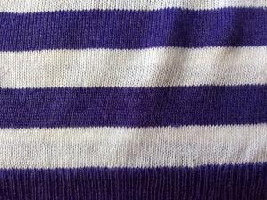 セーターのしみアフター