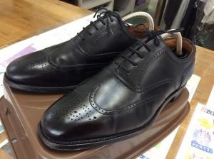 靴のカビ アフター