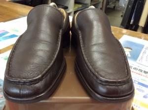 革靴メンテナンスアフター