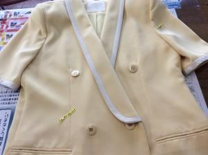 スーツの復元アフター