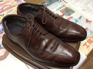 革靴のお手入れアフター