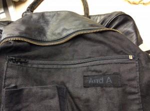 バッグのファスナー修理アフター