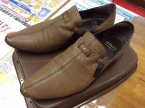 レディース革靴メンテナンスアフター