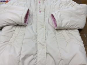 子供コート汚れアフター