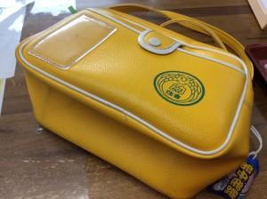 幼稚園バッグの汚れビフォー