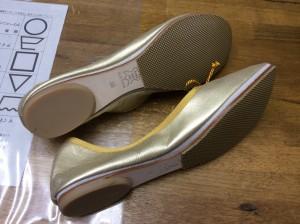レディース靴のハーフソール取付けアフター