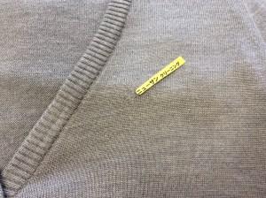 セーターの虫食い修理アフター