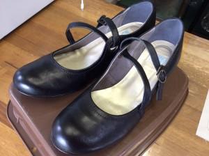 婦人革靴カビ処理アフター