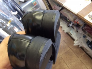 紳士革靴かかと修理・リフト交換アフター