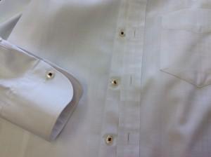 ワイシャツの色移りアフター