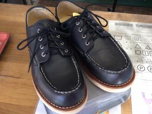 革靴のカビクリーニングアフター