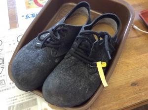 スエード婦人靴のカビビフォー