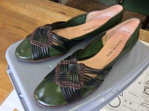 婦人革靴お手入れアフター