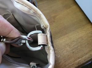 バッグのほつれアフター