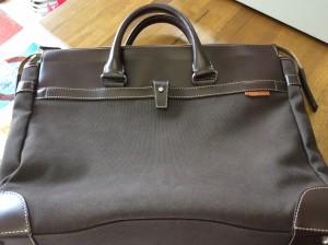 紳士鞄のメンテナンスアフター