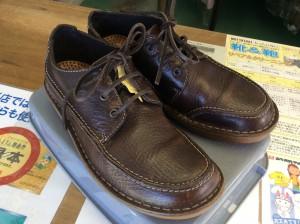 紳士革靴お手入れアフター