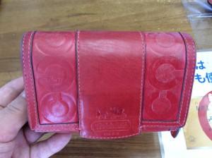 財布のメンテナンスビフォー