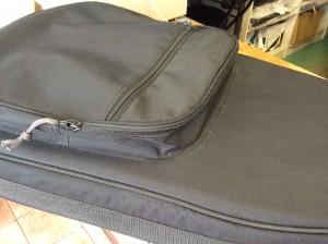 ギターケースのファスナー修理アフター