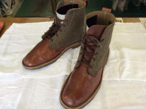 ブーツのカビクリーニングアフター