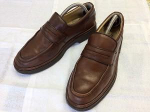 紳士革靴のリメイクアフター