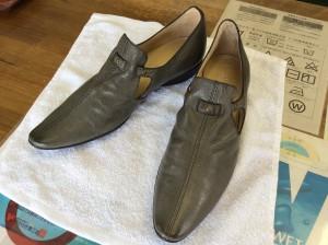 婦人革靴カビクリーニングアフター