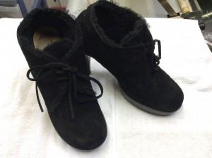 スエード婦人靴クリーニングアフター