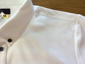 ポロシャツのインク処理アフター