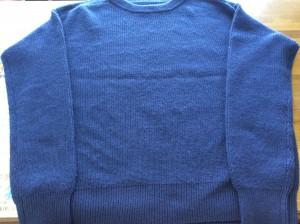 セーターの毛玉取りアフター