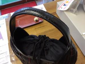 バッグの合成皮革の劣化アフター