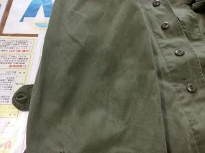 綿ジャケットの油性ジミビフォー