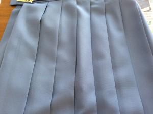 墨汁が制服スカートにアフター
