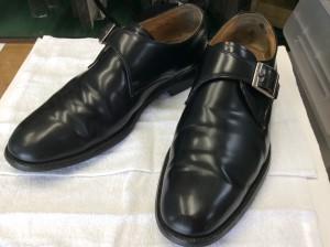 紳士革靴アフター