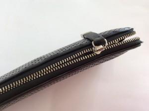 長財布のファスナー修理ビフォー
