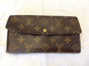 ルィヴィトン財布お手入れアフター