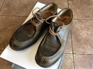 婦人靴クリーニングビフォー