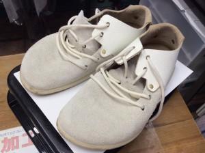 レディーススエード靴ビフォー