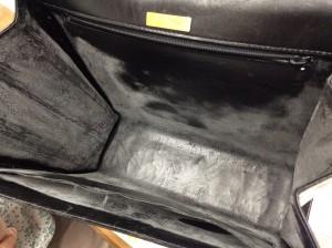 バッグの合成皮革の劣化ビフォー