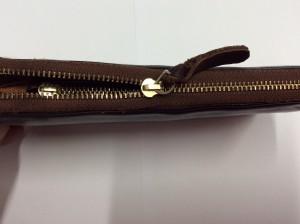財布のファスナー修理アフター