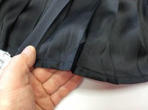 子供さんスカートの破れアフター