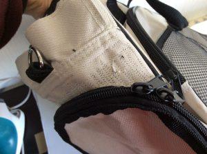 バッグの破れ修理アフター