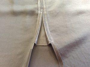 スカートスリット裂け修理アフター