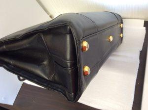 革バッグの色ハゲ補修アフター