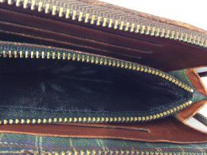 財布の裏地張替えアフター