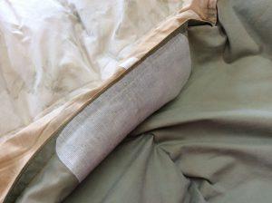 羽毛布団のすり切れ破れアフター