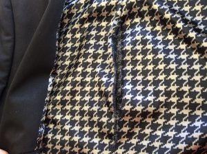ジャケット内側の擦り切れビフォー