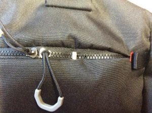 ショルダーバッグのファスナー修理アフター
