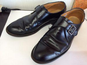 紳士靴メンテナンスビフォー