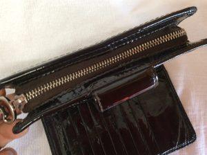 二つ折り財布のファスナートラブルアフター