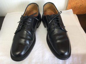 紳士革靴クリーニングアフター